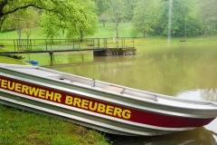 Pumpe setzen von der Jugendfeuerwehr Breuberg Sandbach