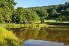 Sandbacher See im Sommer