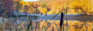 Sandbacher See im Winter