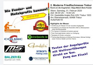 2. Moderne Friedfischmesse Trebur 2020