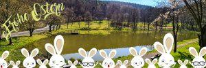 Sandbacher See im Frühling