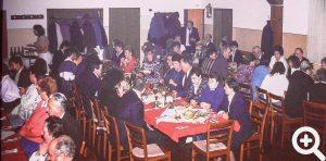 Sehr gut besucht war der Anglerball beim Häischwirt in Rai-Breitenbach am 19.11.1988.