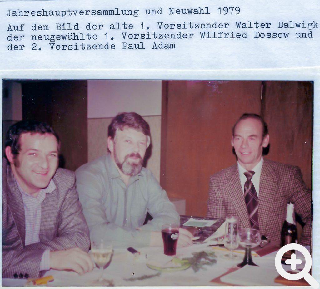 Zeitungsartikel zur Jahreshauprversammlung 1979