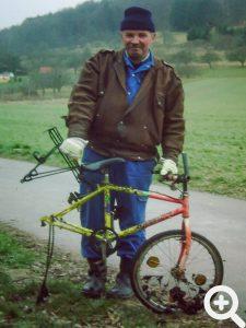 Bei der Reinigung der Breitenbach am 21.02.2004 aus dem Wasser gezogen