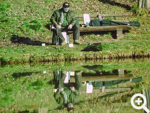 Was gibt es Schöneres als einfach nur am Wasser zu sitzen und auf die Pose zu schauen