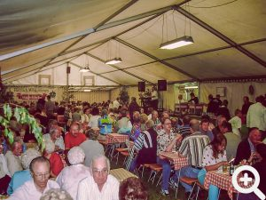volles Zelt und sehr gut Besucht war das Anglerfest 1999