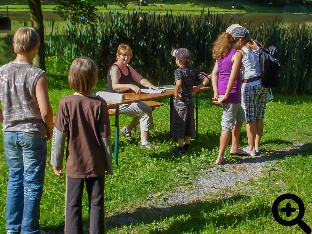 Ich will angeln! Kinderangeln während des Anglerfestes 2010