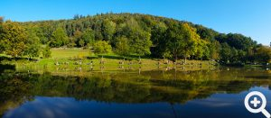 Sandbacher See beim Gästeangeln am 03.10.2015