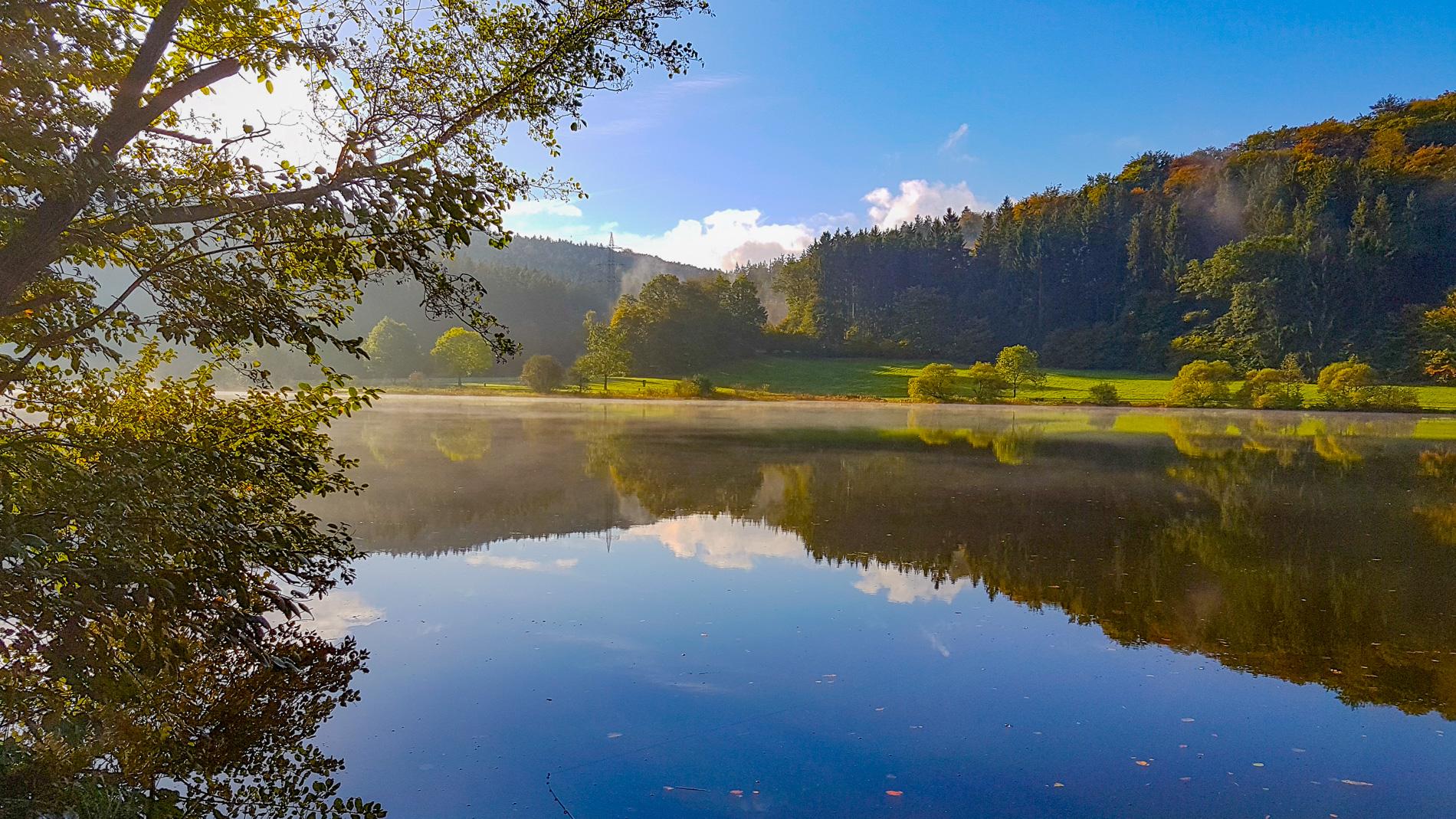 Marbach Stausee im Sommer