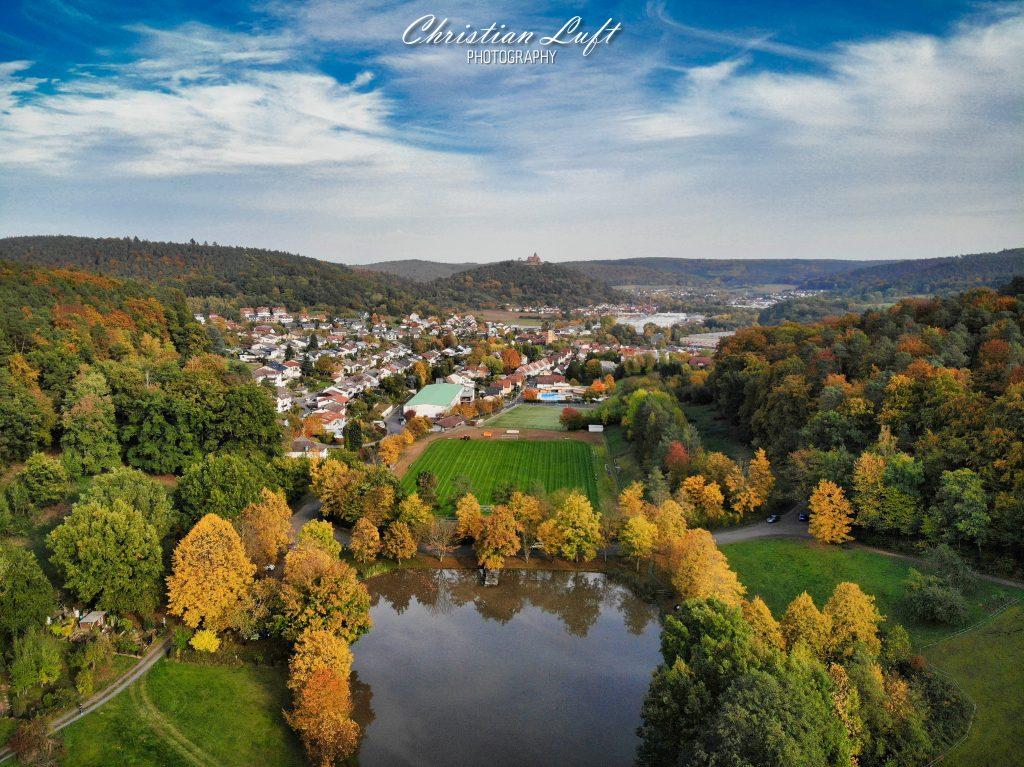 Luftbild 1 vom Sandbacher See