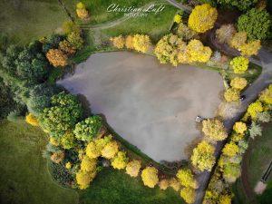 Luftbild 2 vom Sandbacher See